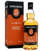 Springbank 10 år  Single Campbeltown Malt Whisky