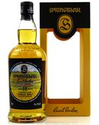 Springbank 1999 Local Barley 16 år Single Campbeltown Malt Whisky 54,3%