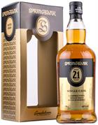 Springbank 21 år New 2017 Release Single Campbeltown Malt Whisky 46%