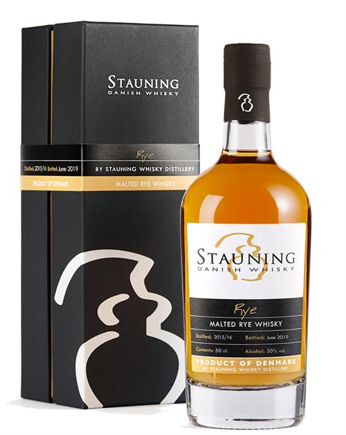 Stauning Rye 2019 Juni Dansk Single Malt Whisky 50%