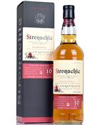Stronachie 10 år Sherry Cask Finish A D Rattray Benrinnes Single Speyside Malt Whisky 43%