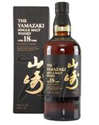 Yamazaki 18 year old Single Malt Whisky Japan 43%